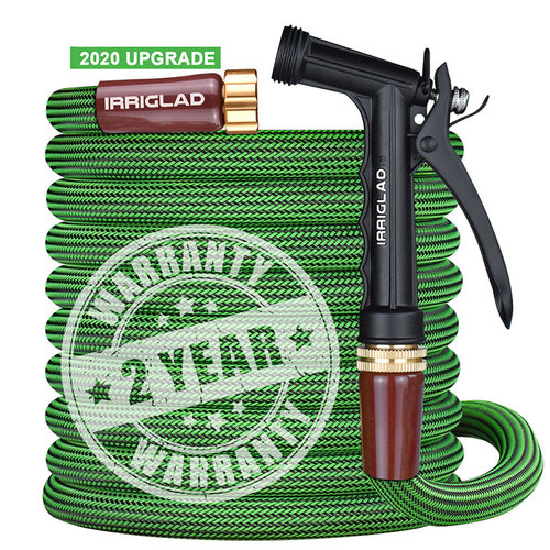 IRRIGLAD High Quality Garden Hose with Spray Nozzle