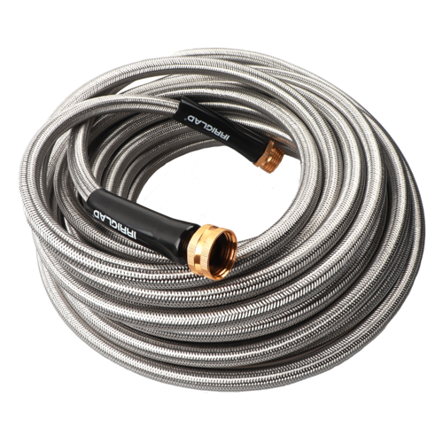 IRRIGLAD Stainless Steel Garden Hose 50ft